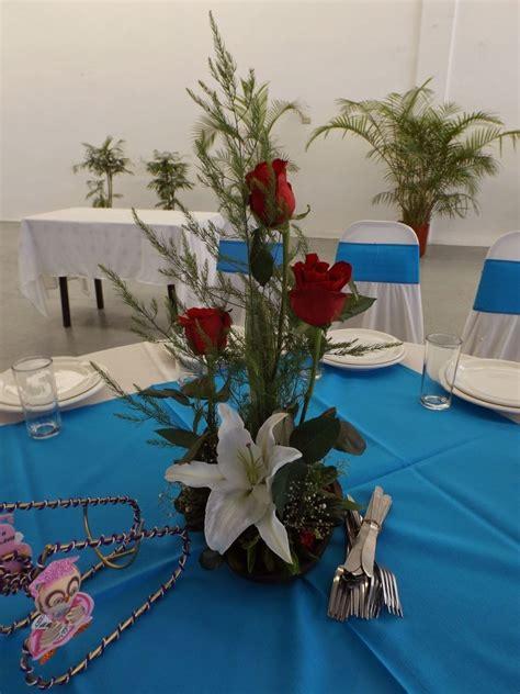 Arreglos Florales Centros De Mesa Flor Natural Boda Xv ...