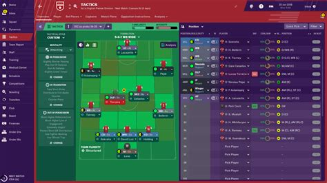 Arsenal in Football Manager 2020   With All The Confirmed ...