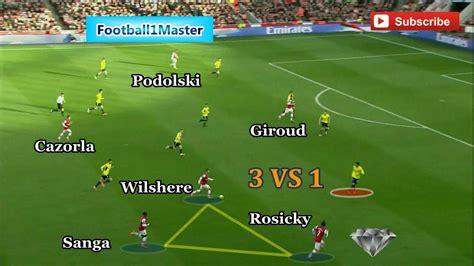 Arsenal Intelligent Football   Tiki Taka Tactic   Tactical ...