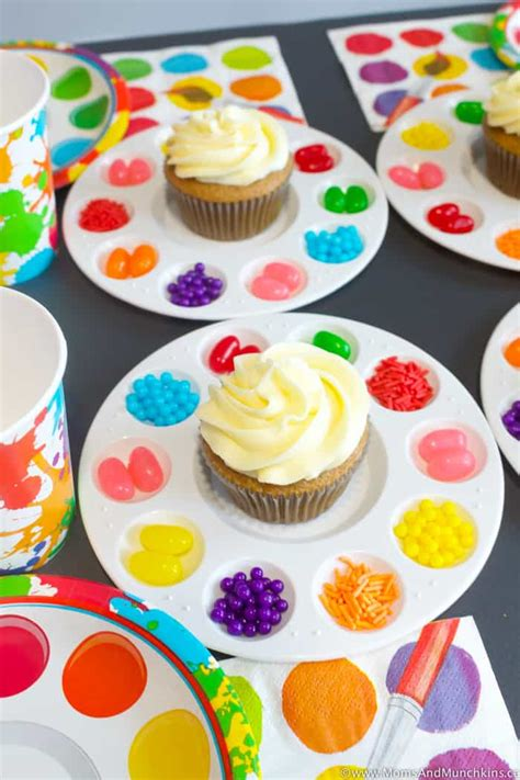 Art Birthday Party Ideas for Kids   Moms & Munchkins