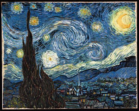 Art Criticism on Vincent Van Gogh s Starry Night   WriteWork