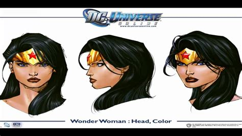 [ART] DC Universe Online   PC | PS3   Wonder Woman ...