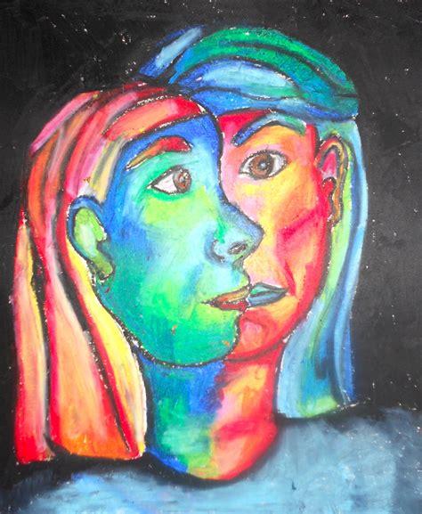Art. Eat. Tie Dye. Repeat.: 5th Grade Picasso Cubism Portraits