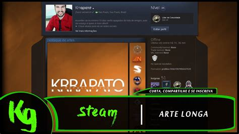 Arte Longa para Perfil Steam @Krrapato   YouTube