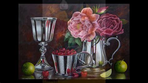 ARTE.PINTURAS AL OLEO. FLORES. RAPHAEL PUELLO   YouTube