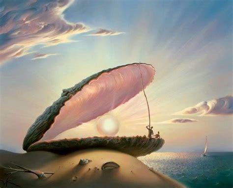 Arte Pinturas Óleo: Paisajes de Pintura Surrealista