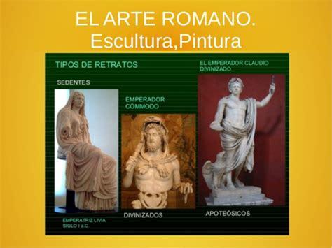 Arte romano: pintura y escultura