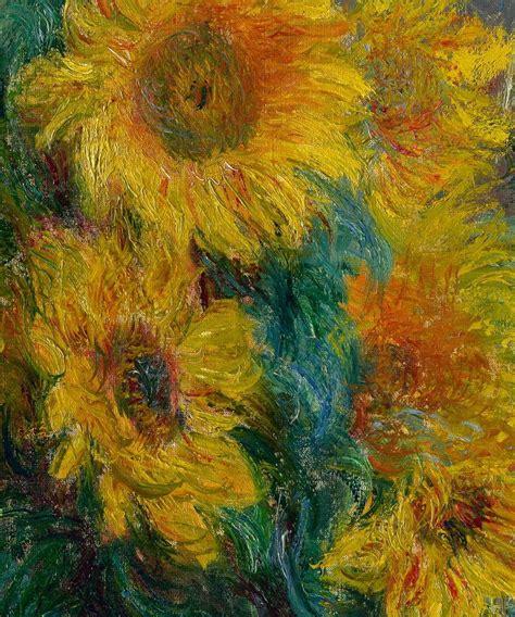 Arte. Set 5 Pinturas Claude Monet  french . Marco Incluído ...