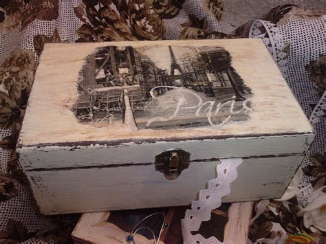ARTESANIA MYDINA: cajas de madera decoradas en diferentes ...