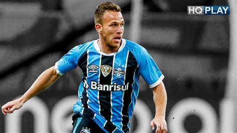 Arthur Complete Midfielder Grêmio 2017 HD 1080p   YouTube