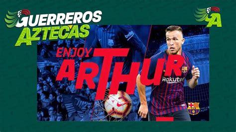 ARTHUR MELO NUEVO JUGADOR DEL F C BARCELONA LA ...