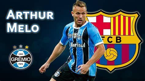 Arthur Melo Welcome To Fc Barcelona 2018/2019 Skills ...