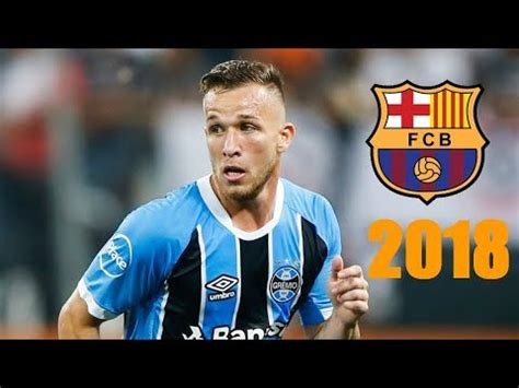 Arthur Melo Welcome to FC Barcelona Skills & Goals 2018 ...