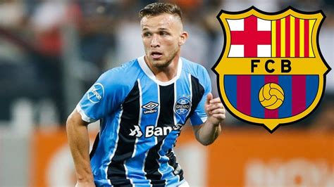 Arthur Welcome to Barcelona Dribbling Skills/Tackles ...