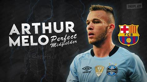 Arthur Welcome to F.C Barcelona 2018 HD   YouTube