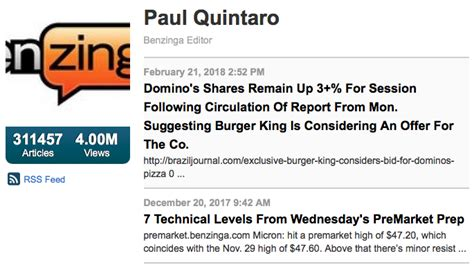 Articles :: Paul Quintaro, John Fuenchem, and the Double ...
