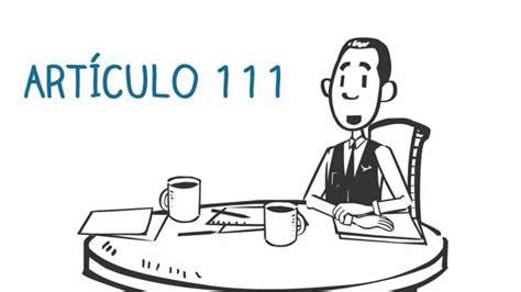 Articulo 111   Código Ingenios   YouTube