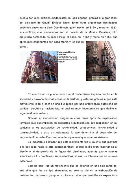 Artículo: Modernismo o Art nouveau