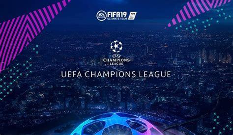 Artículos de la UEFA Champions League de FIFA 19 Ultimate Team