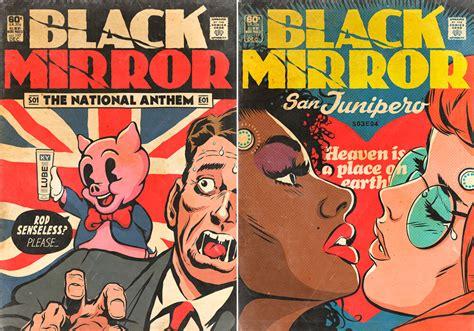 Artista convierte los episodios de 'Black Mirror' en ...