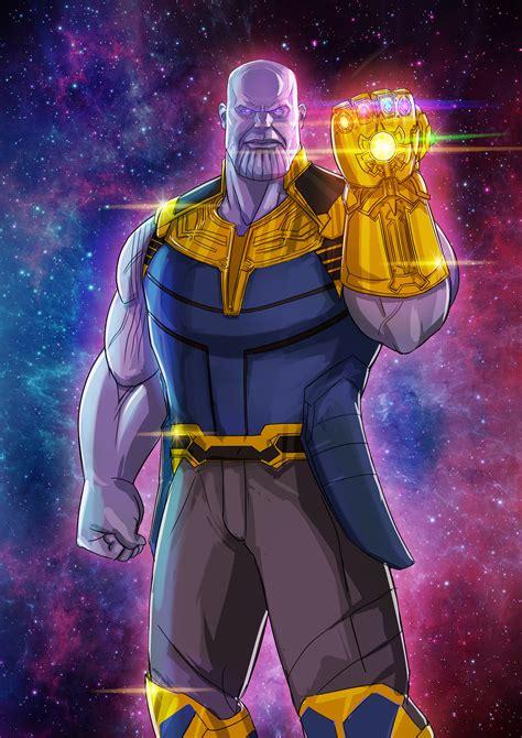 ArtStation   Thanos, Fahad Dasti