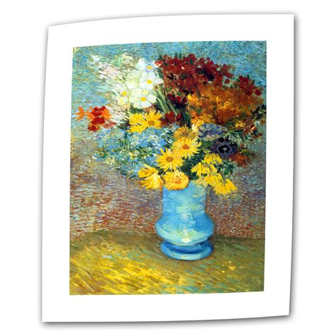 ArtWall  Vase with Red Poppies  by Vincent van Gogh ...