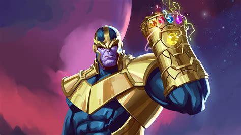 Artwork de Thanos 2020 Fondo de pantalla 4k Ultra HD ID:5962