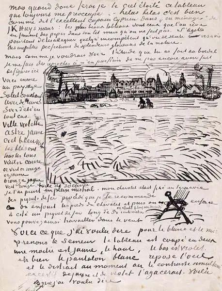 As cartas de Van Gogh | Van gogh, Arte van gogh, Vincent ...
