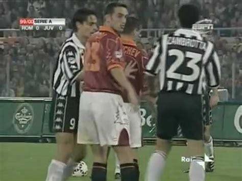 AS Roma 0 1 Juventus   Campionato 1999/00   YouTube