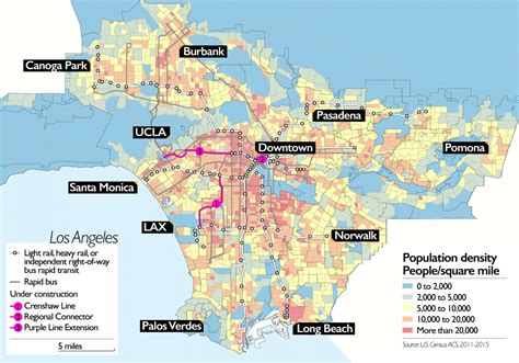 As Transit Expands in Los Angeles, Will Walkability Follow ...