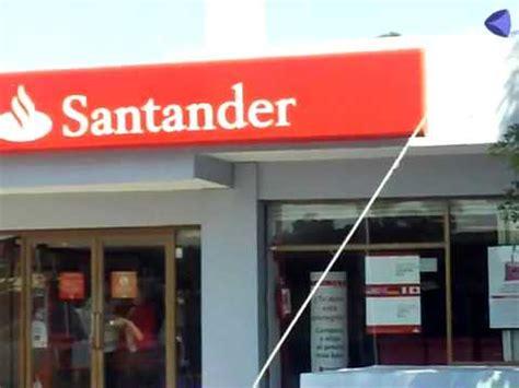 Asaltan sucursal de banco Santander en centro de la ...
