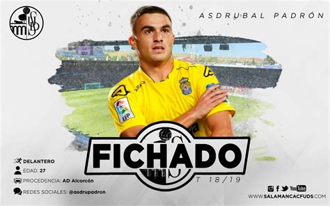 Asdrúbal Padrón, nuevo jugador del Salamanca CF UDS ...