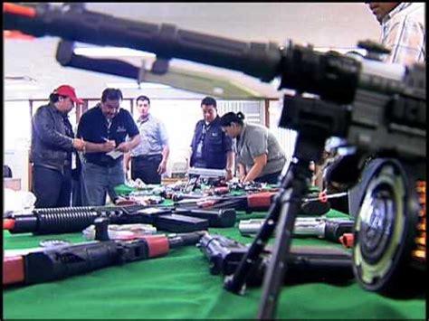 Aseguran Profeco y SSP DF juguetes réplicas de armas de ...