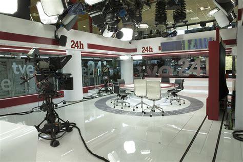 Así es el nuevo plató del Canal 24 Horas de TVE