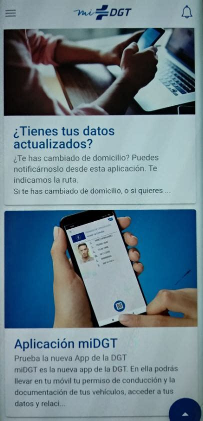 Así es la nueva app de la DGT, para tener el carnet de ...