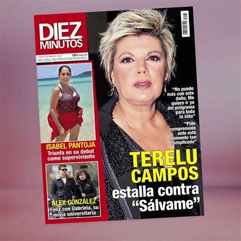 Así es la portada de la revista Diez Minutos esta semana ...