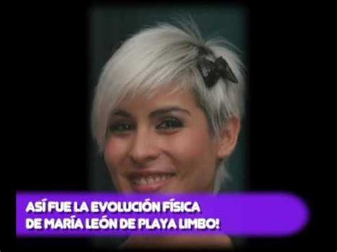 ASÍ FUE LA EVOLUCIÓN FÍSICA DE MARÍA LEÓN DE PLAYA LIMBO ...