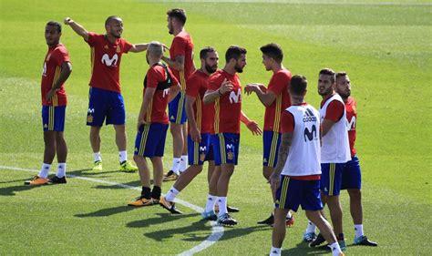 Así ha sido el entrenamiento de la Selección Española