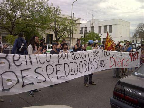 Así reprimieron a los trabajadores del Diario Hoy en La Plata