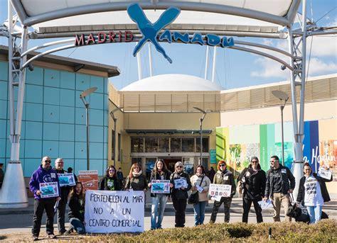 Así se opone el activismo al acuario de Madrid Xanadú