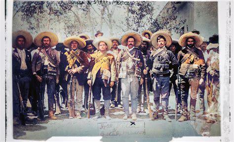 Así se ve la Revolución Mexicana a color, ¿alguna vez lo ...