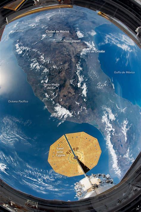 Así se ve México desde el espacio en una fotografía de la ...