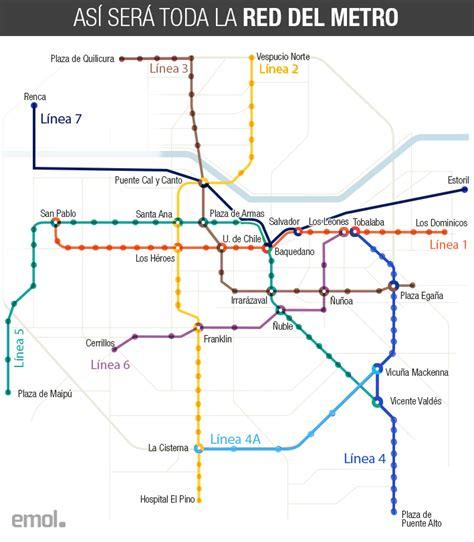 Así será la nueva Línea 7 del Metro que dejará a Santiago ...