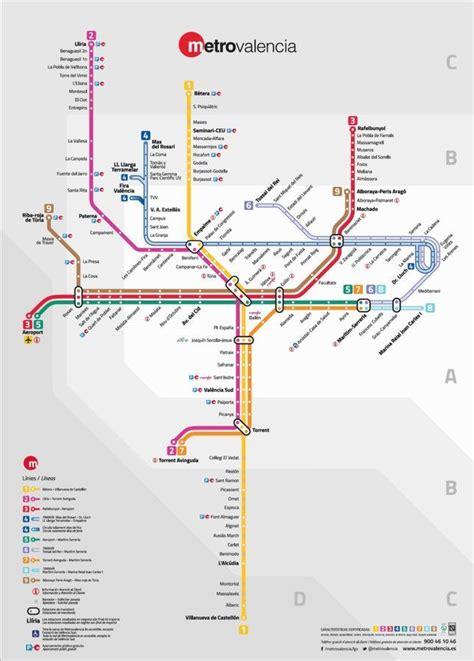 Así serán las nuevas líneas de Metrovalencia