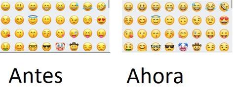 Así son los nuevos emoticonos de WhatsApp para Android