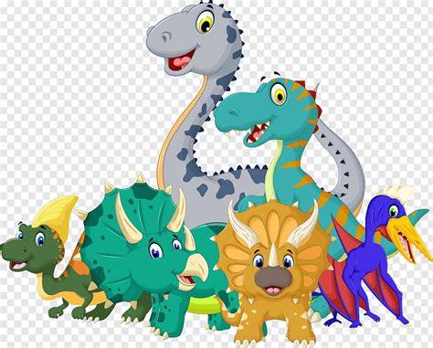 Assorted dinosaur, Cartoon Jurassic Dinosaur, Cartoon ...