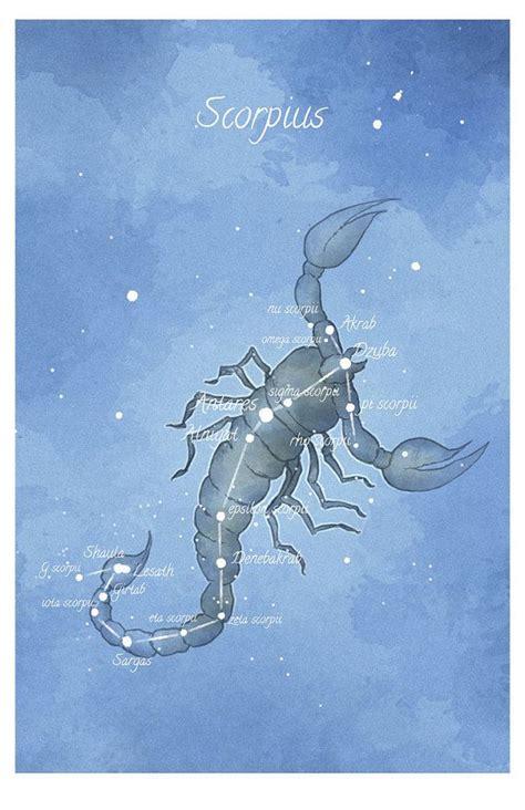 Astronomy art, Scorpius constellation, Scorpio ...