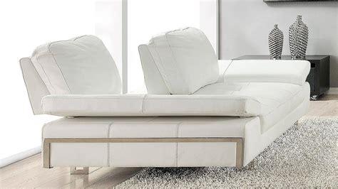 At Home USA Gia White Luxury Italian Leather Ultra Modern ...