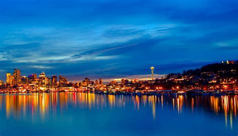 Atardecer en la ciudad HD | FotosWiki.net