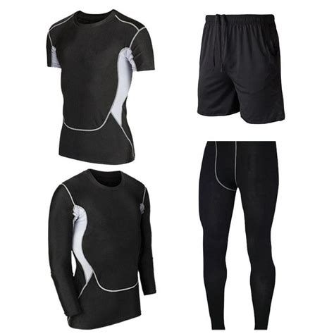 Athletic Compression Workout Set 14 Combinations in 2020 ...